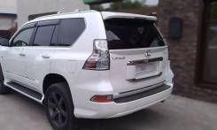 Спойлер на заднее стекло. Toyota Land Cruiser Prado. Под заказ