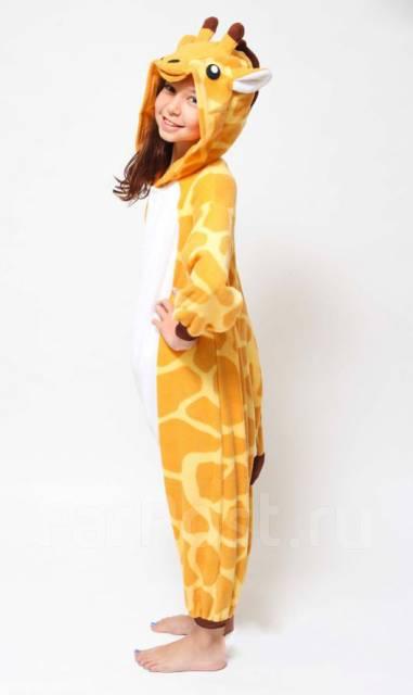 Кигуруми «Жираф» детский на рост 120см - Одежда для дома и сна во ... adea468844445