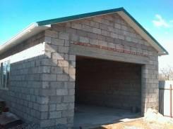 Строительство гаражей из отсевоблоков