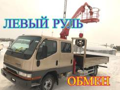 Mitsubishi Canter. Самогруз двухкабинник ,, 5 000 кг., 12 м.