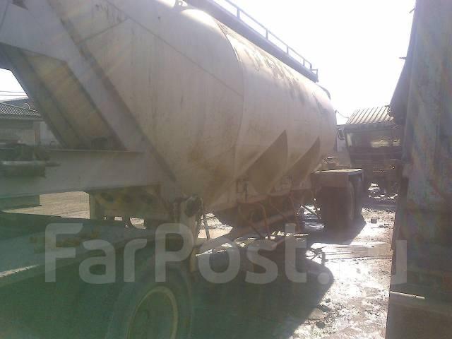 Korea Trailer. Полуприцеп цементовозный 30 тонн производство Корея, 30 000кг.