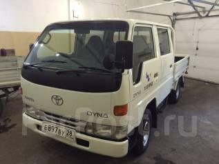 Toyota Dyna. DYNA 4WD, 2 800 куб. см., 1 350 кг.