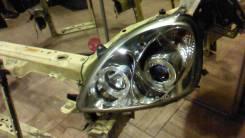 Фара. Toyota Vitz, SCP10, SCP13, NCP10, NCP13, NCP15 Двигатели: 1SZFE, 1NZFE, 2NZFE, 2SZFE