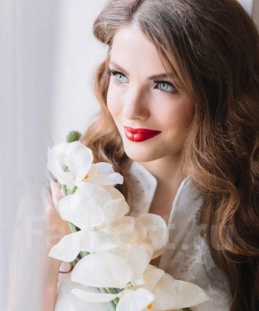 Прическа свадебная выезд
