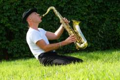 Саксофонисты.