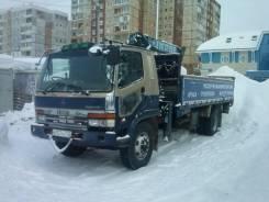 Mitsubishi Fuso Fighter. Продается грузовик бортовой с манипулятором, 6 900 куб. см., 8 000 кг.
