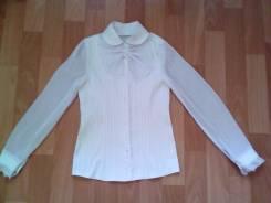 Блузки школьные. Рост: 140-146, 146-152 см