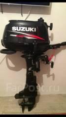 Suzuki. 6,00л.с., 4х тактный, бензин, нога S (381 мм), Год: 2015 год
