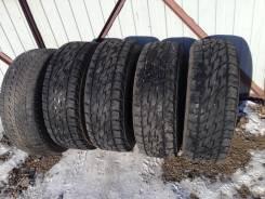 Bridgestone Dueler A/T 697. Летние, износ: 20%, 5 шт