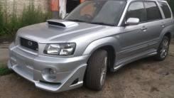 Обвес кузова аэродинамический. Subaru Forester, SG5, SG