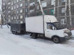 ГАЗ Газель. Продается газель с прицепом, 2 400 куб. см., 2 000 кг.