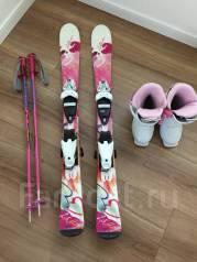Горные лыжи ELAN детские комплект. 100,00см., горные лыжи, универсальные