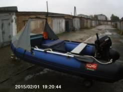 Надувная лодка. Год: 2013 год, длина 365,00м., двигатель подвесной, бензин