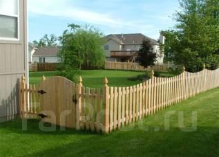 Плотник. Ворота, калитки, заборы, ограждения, из массива дерева.