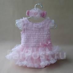 Боди-платья. Рост: 68-74, 74-80, 80-86 см