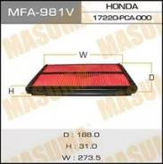 Фильтр воздушный. Honda Torneo, E-CF4, E-CF3, E-CF5, LA-CF5, GH-CF5, GF-CF5, GF-CF4, GF-CF3, LA-CL3, GH-CF3, GH-CF4, GH-CL1 Honda Accord, GH-CF3, LA-C...