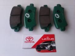 Колодка тормозная дисковая. Toyota Corolla, ZZE120, ZZE121, ZZE123, CDE120, NDE120 Двигатели: 4ZZFE, 3ZZFE, 1CDFTV, 1NDTV, 2ZZGE