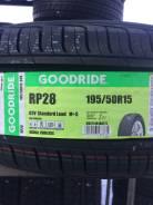 Goodride RP 28. Летние, 2016 год, без износа, 4 шт