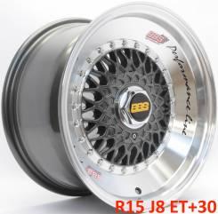 BBS RS. 8.0x15, 4x100.00, 4x114.30, ET30, ЦО 73,1мм.