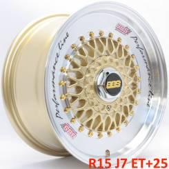 BBS RS. 7.0x15, 4x100.00, 4x114.30, ET25, ЦО 73,1мм.