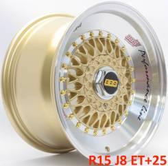 BBS RS. 8.0x15, 4x100.00, 4x114.30, ET25, ЦО 73,1мм.