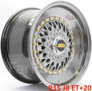 BBS RS. 8.0x15, 4x100.00, 4x114.30, ET20, ЦО 73,1мм.