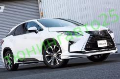 Обвес кузова аэродинамический. Lexus RX350. Под заказ