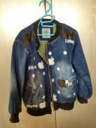 Куртки джинсовые. Рост: 116-122 см. Под заказ