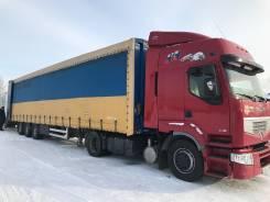 Renault Premium. Сцепка 440Dxi, 2007 г. в. + п/п Krone, 2000 г. в., 11 000 куб. см., 30 000 кг.