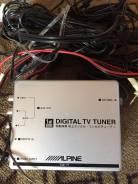 Alpine tv тюнер со всеми проводами
