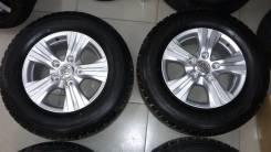 Новые оригинальные колеса R18 Lexus LX570 + 285/60 R18 Bridgestone. 8.0x18 5x150.00 ET56 ЦО 110,1мм.