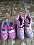 Продам две пары обуви на девочку 5-6 лет. 34, 35, 36, 37