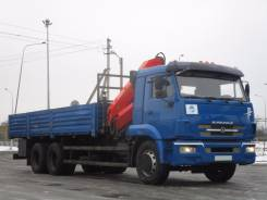 Камаз 65117. КамАЗ 65117 с КМУ Palfinger PK 15500, 6 700 куб. см., 11 000 кг.