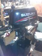 Suzuki. 6,00л.с., 4х тактный, бензин, нога S (381 мм), Год: 2011 год