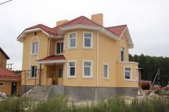 Cтроительство дома, коттеджа из кирпича, газобетона