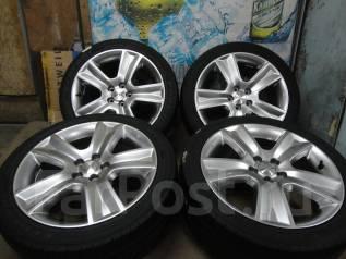 Продам Отличные Стильные Чёр. Хром колёса Subaru Legacy+Лето 215/45R17. 7.0x17 5x100.00 ET48