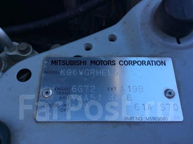 Редуктор. Mitsubishi Montero Sport, K90 Двигатель 6G74