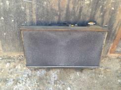 Радиатор охлаждения двигателя. Toyota Aristo, JZS161, JZS160