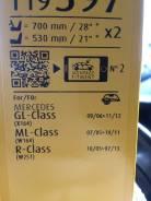 Дворник. Mercedes-Benz M-Class Mercedes-Benz GL-Class, X164 Mercedes-Benz R-Class, W251 Mercedes-Benz ML-Class