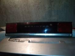 Вставка багажника. Toyota Sprinter, CE100, EE101, AE104, AE101, AE100, CE104 Двигатели: 4AFE, 4AGE, 5AFE, 4EFE, 2C