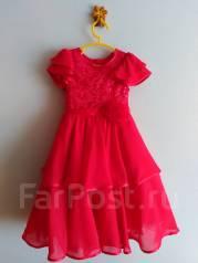 Платья. Рост: 98-104, 104-110 см