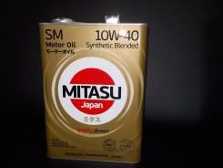 Mitasu. Вязкость 10W-40, полусинтетическое