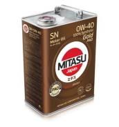 Mitasu. Вязкость 0W-40, синтетическое