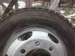 Запаска и диск на японский грузовик 245 70 19.5