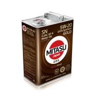 Mitasu. Вязкость 5W-20, синтетическое