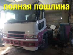 Mitsubishi Fuso Super Great. Седельный тягач Mitsubishi Super Great 2005г, 21 000 куб. см., 30 000 кг.