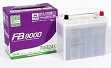 FB 9000. 55 А.ч., Обратная (левое), производство Япония