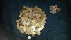 Очень большой лот монет (383 шт) 10 и 5 копеек