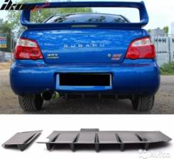 Сплиттер. Subaru Impreza WRX STI