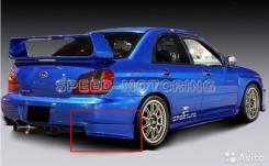 Клык бампера. Subaru Impreza WRX STI